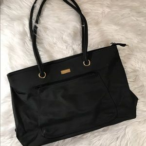 St John Black Tote Bag